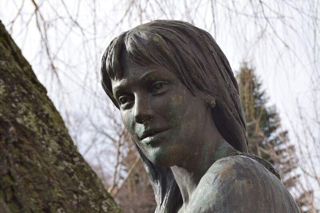 Burgos, női szobor