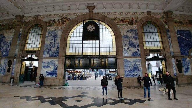 Porto vasútállomás